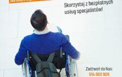 Więcej o: Bezpłatne wsparcie psychologiczne osób z niepełnosprawnościami i dla ich rodzin